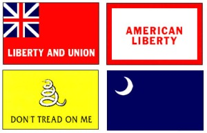 American Revolutionary War Flags