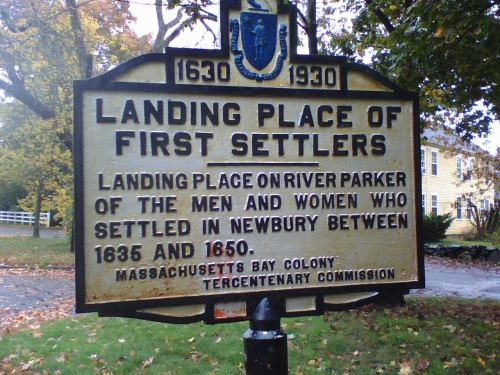 Landing Place of First Settlers
