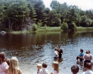 Dad's Baptism 1984