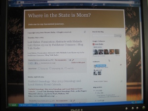 Where in the State is Mom blogspot