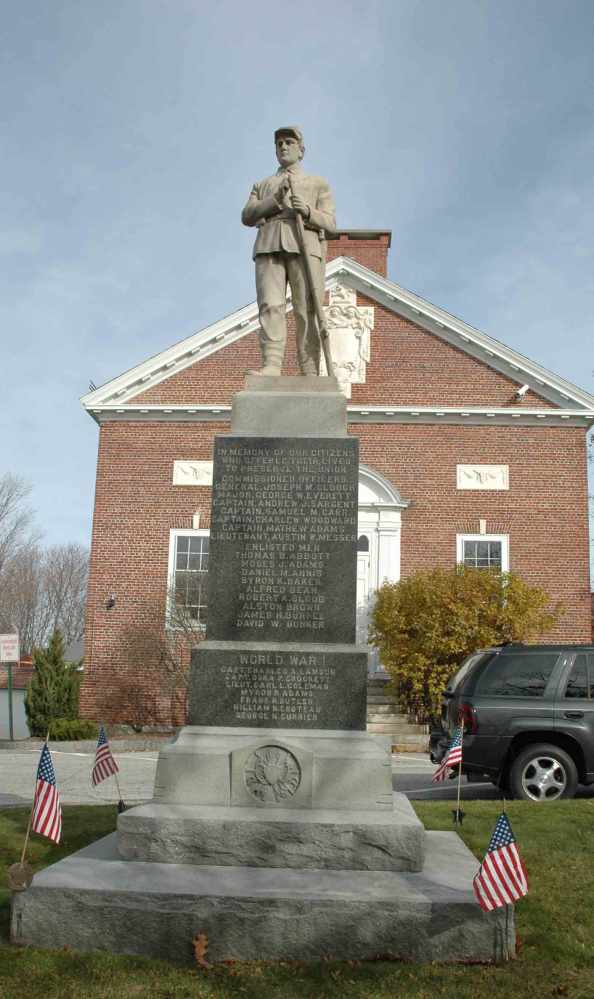 Veterans Honor Roll from New London, New Hampshire (2/3)