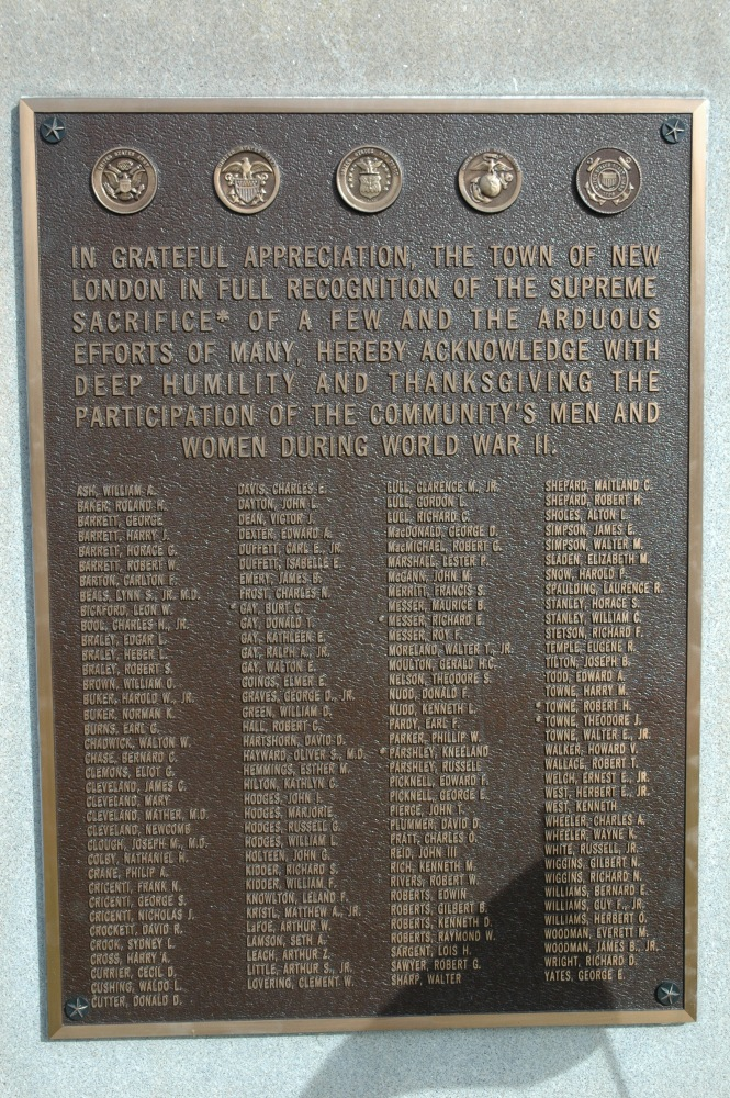 Veterans Honor Roll from New London, New Hampshire (3/3)