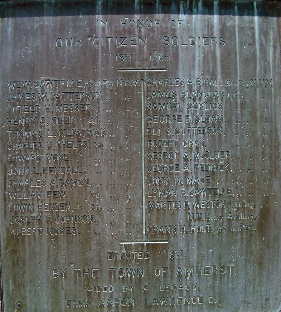 Military Honor Roll Monday: Amherst, New Hampshire Part II (2/5)