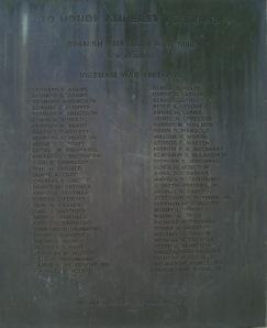 Spanish American War 1898 Vietnam War 1961 - 1973