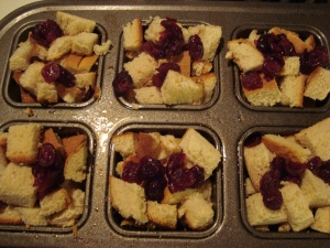 Bread pudding base