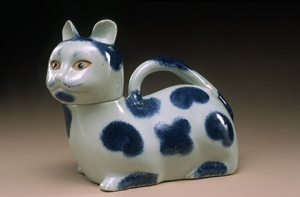 Ceramic Cat Urinal Medical Equipment in the 1800's
