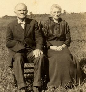 Benjamin Hutchins and Sarah Augusta Abbey (1846-1931)