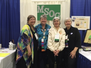 Thank you to all the MSOG Volunteers for your time and enthusiasm at NERGC.