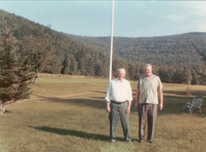 Fred and Ed Glen, New Hampshire