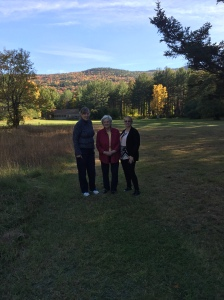 Chris, Sue and Aunt Bea- Glen New Hampshire 2015