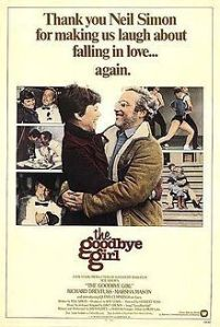 Goodbye Girl movie poster