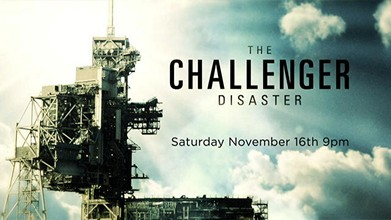The challenger disaster poster