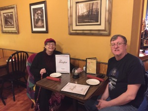 1st customers of Portofino Italian Rest_ Merrimack NH 2 Feb 2016