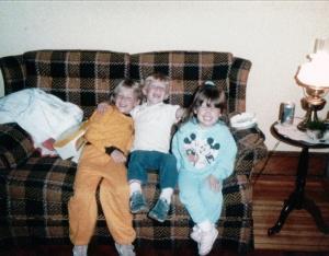BUTKA Tyna, Michael J _Nicole DellaGioia Sept 1986
