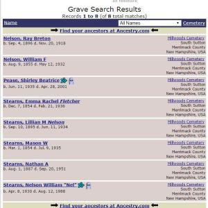 Find A Grave Memorials