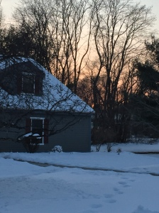 8 Feb 2016 sunset