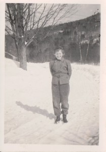 Shirley circa 1948 Sutton, New Hampshire