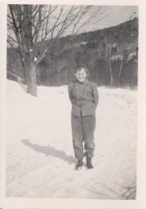 Shirley circa 1948 Sutton, New Hampshire