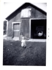 Nelson age 3, 1933 Sutton, New Hampshire