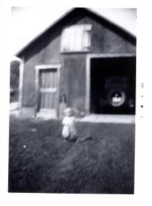 Nelson age 3, 1933 Sutton, New Hampshire