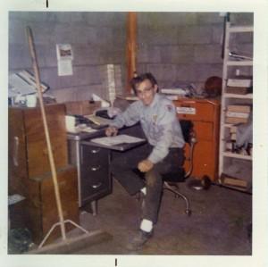 Nelson at the Garage circa 1972