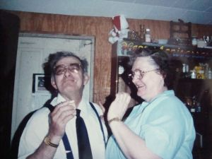 Nelson William and Shirley Beatrice Pease Stearns 35th wedding anniversary party June 1988