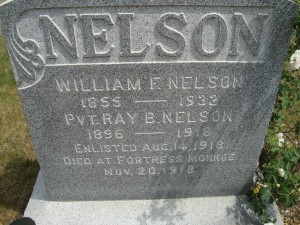Pvt. Ray B. Nelson